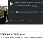 DJ OASIS ECD追悼MIXTAPE「ECD Forever」をフリーダウンロードで公開!